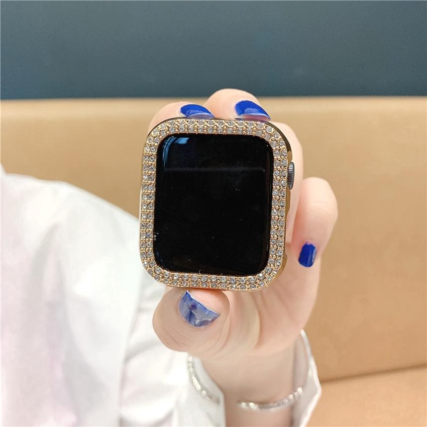 เคสนาฬิกาข้อมือสําหรับ apple watch 38 มม. 42 มม. 40 มม. 44 มม. band pc iwatch series SE 6 5 4 3 2