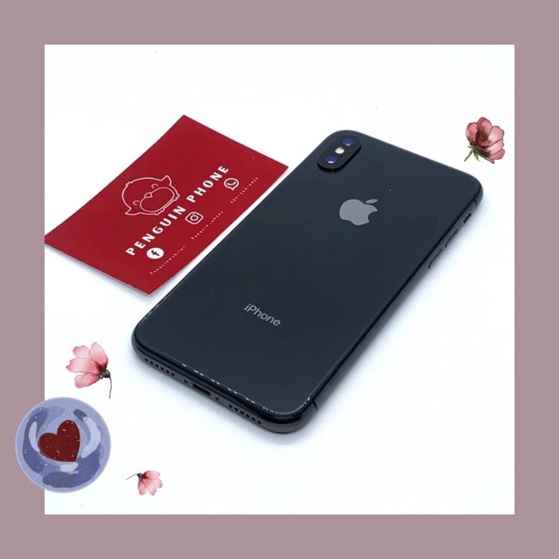 iPhone X 64GB สี Space Gray มือสอง สภาพ 97% [ไอโฟนมือสอง iPhoneมือสอง ไอโฟนมือ2 ไอโฟนราคาถูก โทรศัพท์มือสอง มือสอง]