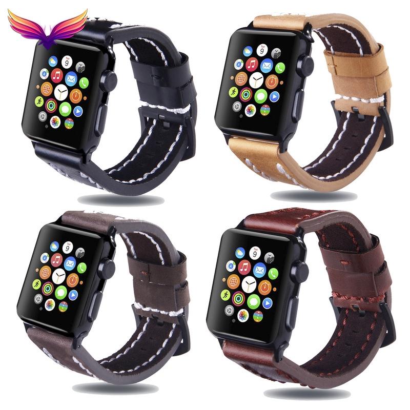 Applewatch นาฬิกาข้อมือสายหนัง