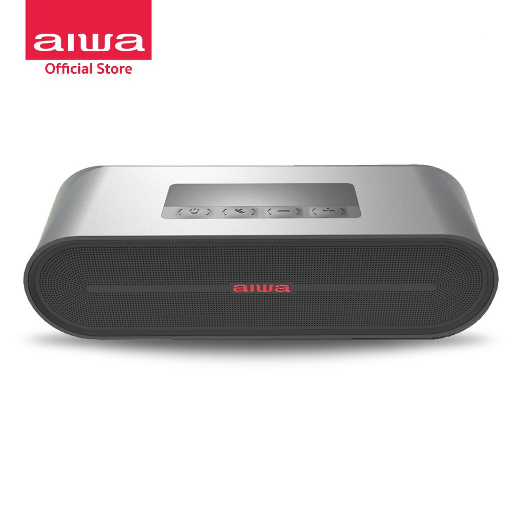 [ผ่อน 0%] AIWA SB-X100 Bluetooth Speaker ลำโพงบลูทูธพกพา BASS++