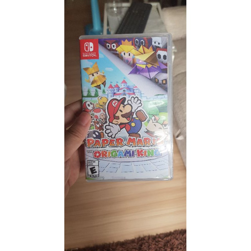 Nintendo switch Paper Mario มือสอง