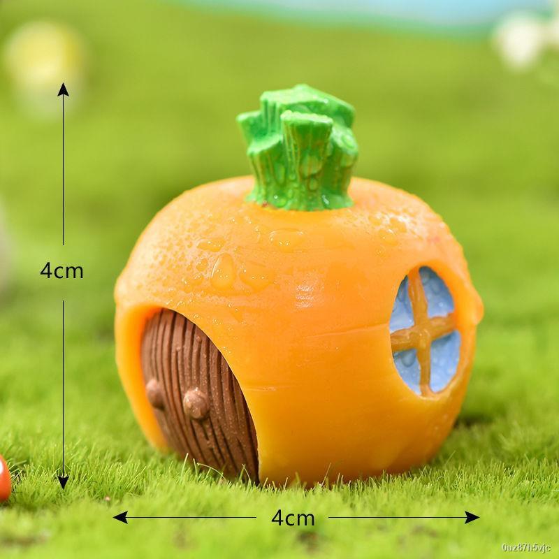 ส่งจากกรุงเทพ☾✽> เครื่องประดับภูมิจิ๋วสัตว์น่ารักกระต่ายการ์ตูนแครอทกระต่ายกระต่ายบ้านสวนต้นไม้ตกแต่งไม้อวบน้ำ