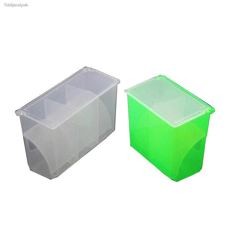 อุปกรณ์สัตว์เลี้ยง☄✵นกพิราบเพาะพันธุ์นก Zhiang จัดหาเครื่องใช้ สำหรับนกพิราบและนกกล่องรั่วอาหารอัตโนมัติสามหลุมกล่องรั่