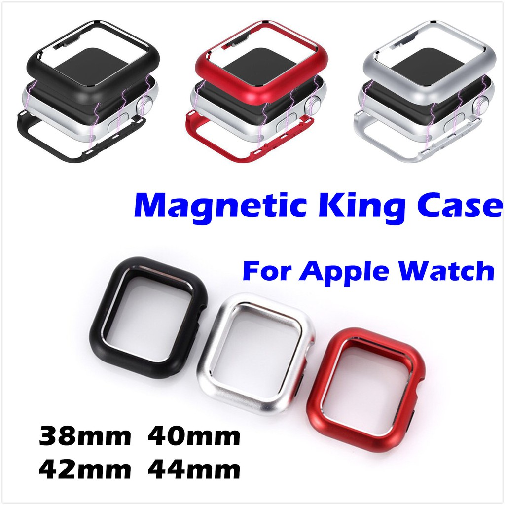 Apple Watch Protection Case Magnetic King case for Apple Watch Series 1/2/3/4/5 38mm 40mm 42mm 44mm