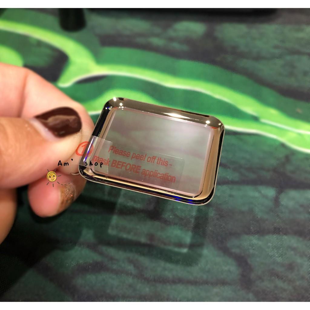✅🔥💥✴✣ฟิล์มกระจก AppleWatch กาวเต็มลงโค้ง Series 1 2 3 4 5 6 SE