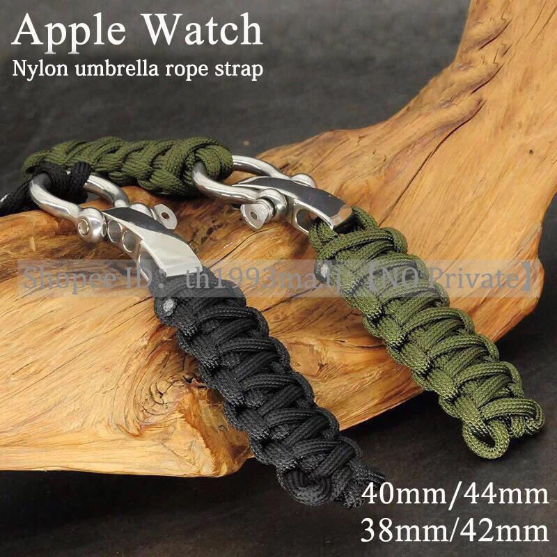 สาย applewatch สายนาฬิกา applewatch สายรัดไนลอนทอ Apple Watch, สาย iWatch 1/2/3/4/5/6