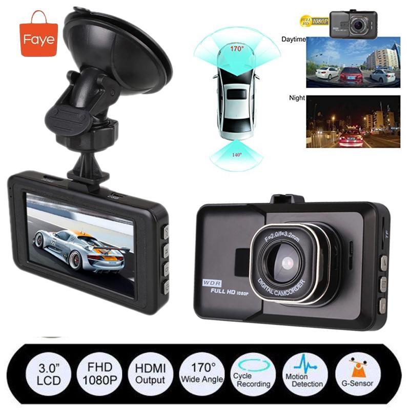 Full HD 1080p 3/'/' Vehicle Car Dash Cam DVR Video Camera Recorder G-sensor Xgody