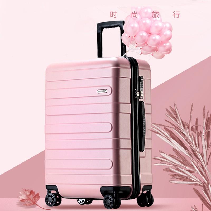 กระเป๋าเดินทางผู้หญิงรถเข็นผู้ชายขนาดเล็ก20นิ้ว26 Lockbox Ins เครือข่ายสีแดงน้ำหนักเบา24 Pi xiang Zi1