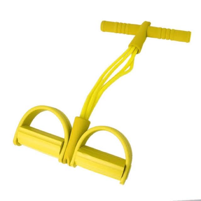 ✔️เตรียมการจัดส่ง✔️ยางยืดออกกำลังกาย ยางยืดออกกำลังกาย แบบมีที่เหยียบและด้ามจับโฟม รุ่น สายแรงต้าน 4 เส้น UF4s x5pS