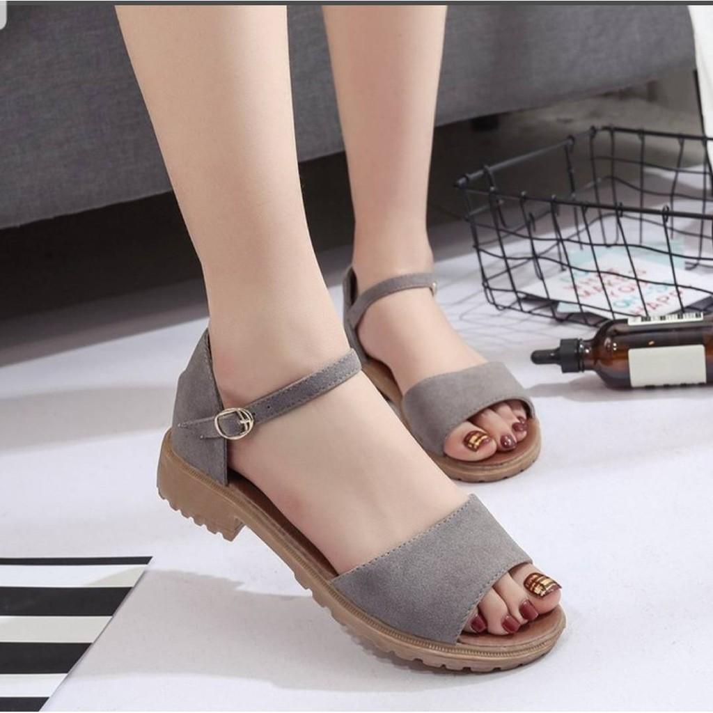 รองเท้าคัชชูส้นสูงรัดส้นทรงสวย - รองเท้าแฟชั่น