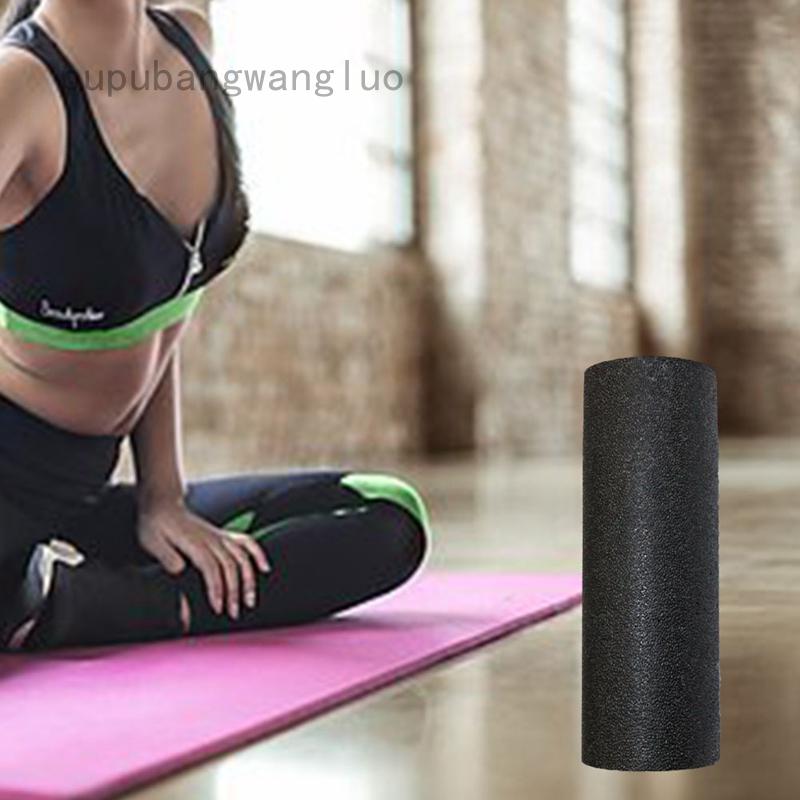 """Yogu Foam Roller EPP High Density Extra Firm Black 12/"""""""