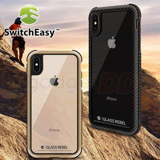 Review Switch Easy For iPhone XS Max / XR / XS /X  เคสกันกระแทกหลังกระจกใส ของแท้ 100%