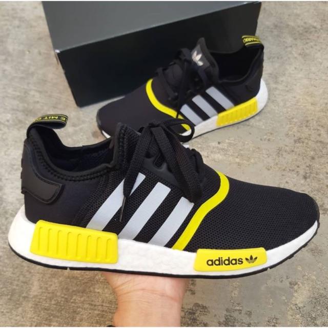 9573261af รองเท้า Adidas NMD R1 Color Black   Yellow (F99713) ⚫ 💛 adidas ...