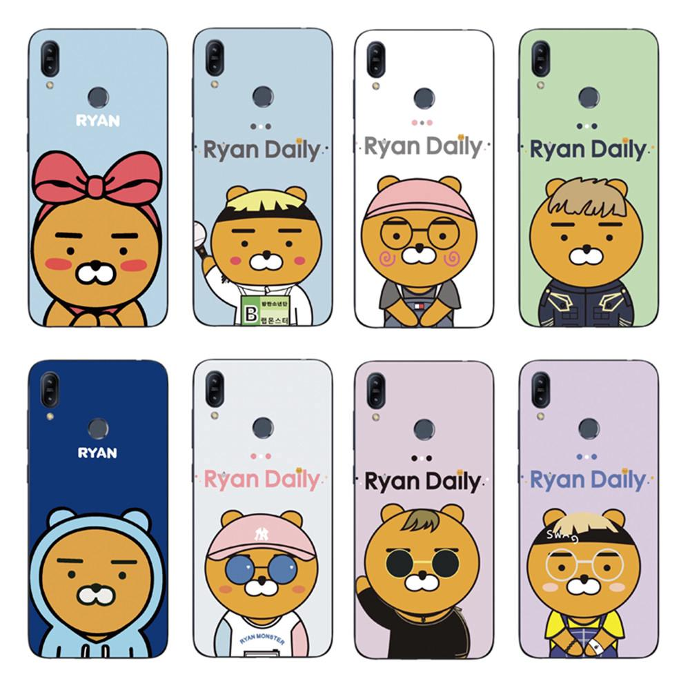 Review Cartoon Brown Bear Back Cover Asus Zenfone Max Pro M2 ZB631KL / ZB633KL Soft TPU Case