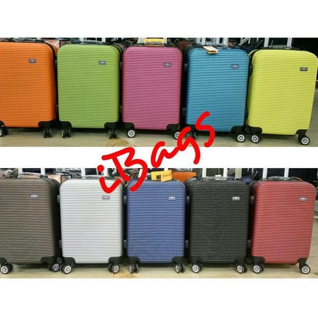 กระเป๋าเดินทาง 16 นิ้ว Polo Wheel Bag 4 ขนาดเล็กมินิสีดํา