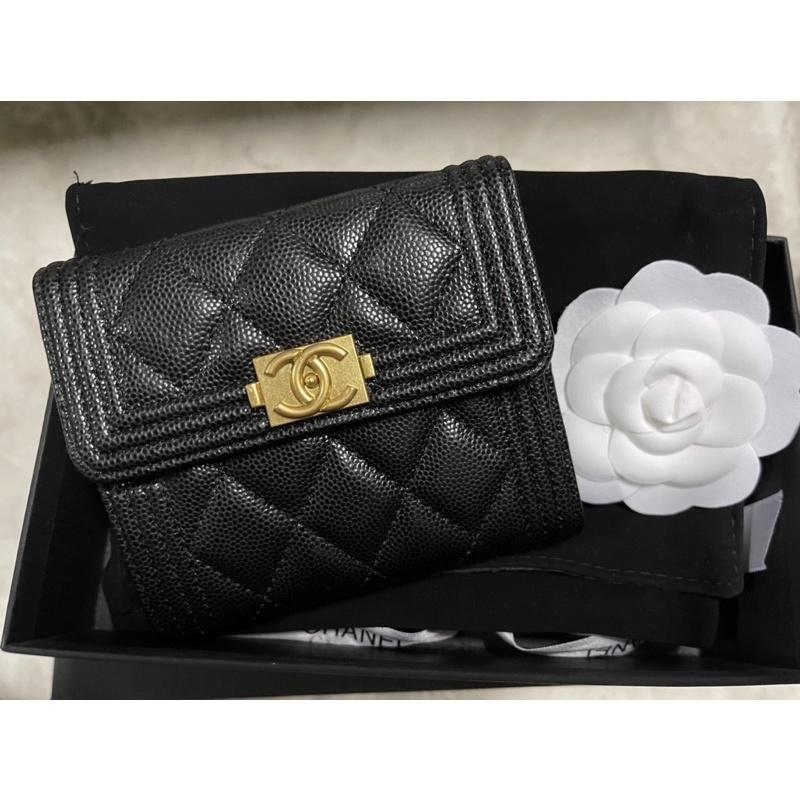Chanel Short Wallet หน้า Boy