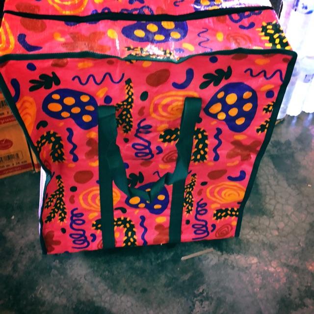"""กระเป๋าล้อลาก PE ขนาด19"""" x10""""x23"""" สำหรับใส่ของ เดินทาง จ่ายตลาด อื่นๆ"""