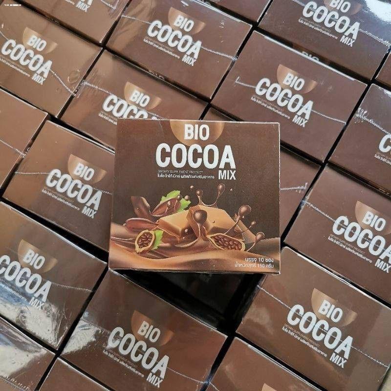 ✜✲ไบโอโกโก้ ไบโอคอฟฟี่ มอลต์ มิกซ์ Bio Cocoa Mix / Bio coffee / Bio Tea Malt/Bio matcha(10ซอง)