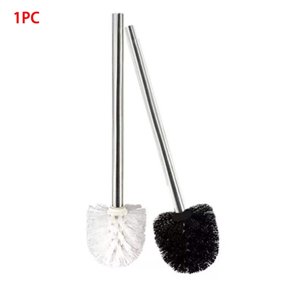 White Toilet Brush Holder Home Bathroom WC Cleaning Tools