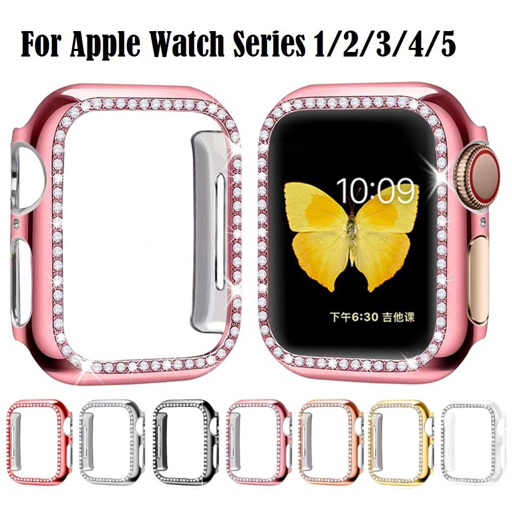เคส Apple Watch มิลลิเมตรสําหรับ เคสนาฬิกาข้อมือสไตล์หรูหรา apple watch iwatch series 4/3/2/1 ชิ้น Applewatch Case