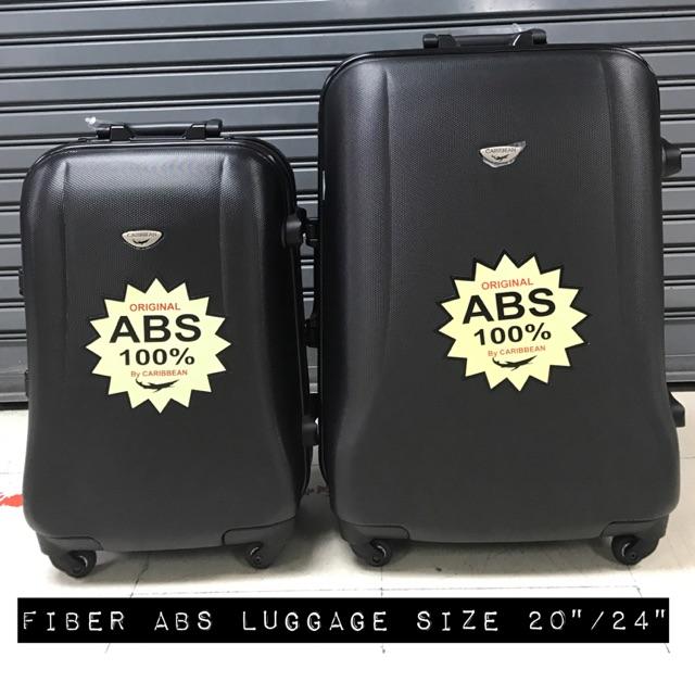 กระเป๋าเดินทางไฟเบอร์Hardcase ABS 20นิ้ว/24นิ้ว