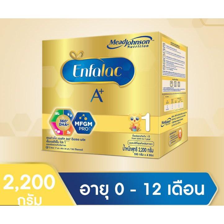 Enfalac A+สูตร1 ขนาด 2200 กรัม