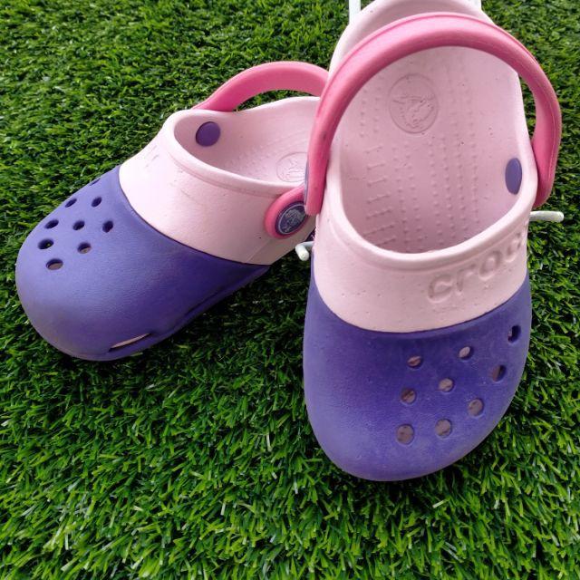 รองเท้า crocs รองเท้ามือสองแบรนด์ crocs (ในไลฟ์)