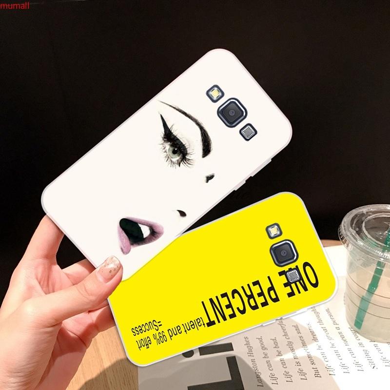 Samsung A3 A5 A6 A7 A8 A9 Star Pro Plus E5 E7 2016 2017 2018 Lass Soft Silicon TPU Case Cover