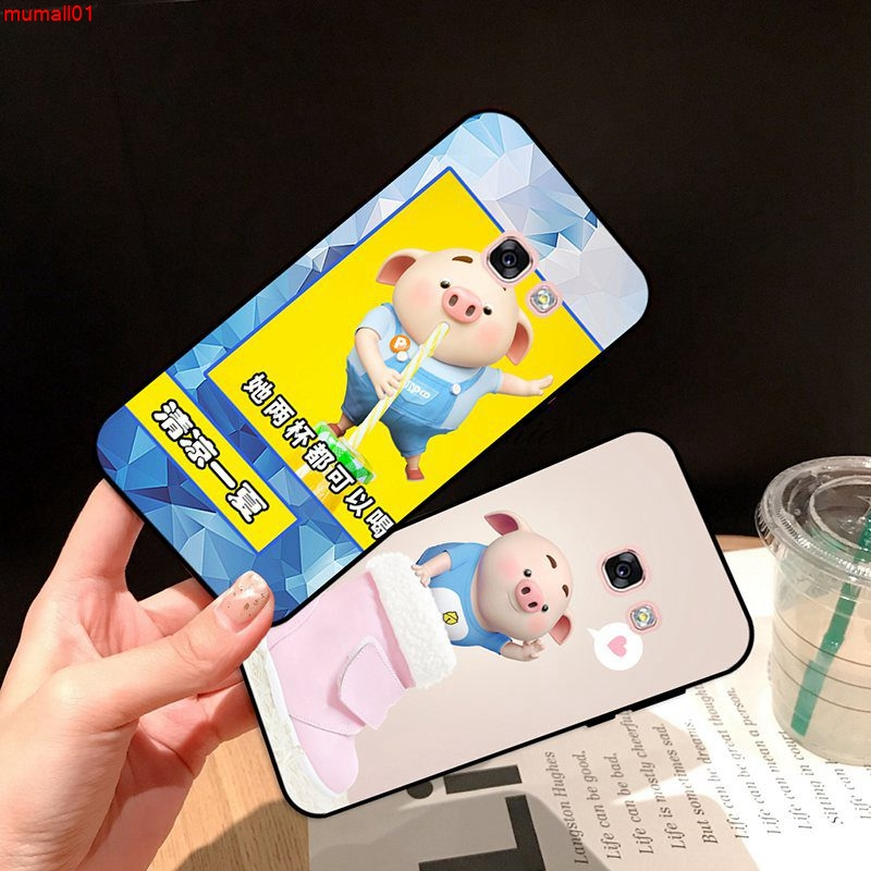 Samsung A3 A5 A6 A7 A8 A9 Pro Star Plus 2015 2016 2017 2018 HZXP Pattern-5 Silicon Case Cover