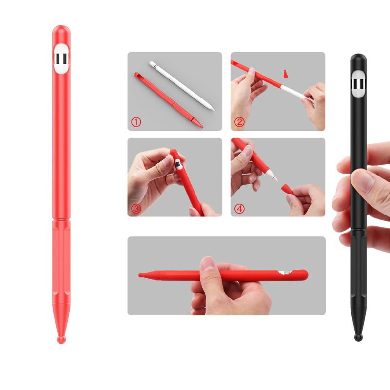 เคสซิลิโคนสําหรับ Apple Pencil Ipad Pro Pencil