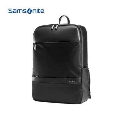 К﹎กระเป๋าสะพายหลังกระเป๋ากางเกงกระเป๋าเดินทางSamsonite กระเป๋าเป้สะพายหลังธุรกิจแฟชั่นกระเป๋าเป้หนังวัว14/15นิ้วกระเป๋าค