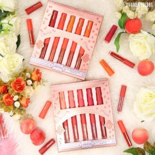 Review 🍒🍑🍒🍑💖 SIVANNA COLORS MINI MATTE LIP & GLOSS COLLECTION💖 🍑🍒🍑🍒