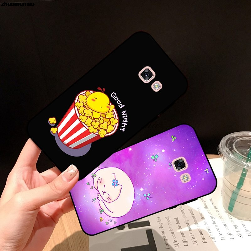 Samsung A3 A5 A6 A7 A8 A9 Pro Star Plus 2015 2016 2017 2018 XTH Pattern-2 Silicon Case Cover