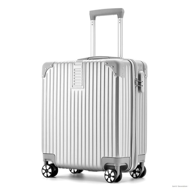 กระเป๋าเดินทางใบเล็ก☃♈กระเป๋าเดินทาง กระเป๋าเดินทางขนาดเล็ก น้ำหนักเบา กระเป๋าเดินทางหญิงและชาย กล่องใส่รหัสผ่านนักเรีย