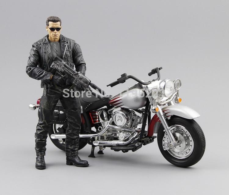 "NO box NECA The Terminator 2 Action Figure T800 Cyberdyne Showdown PVC Figure Toy 7""18cm MVFG132"