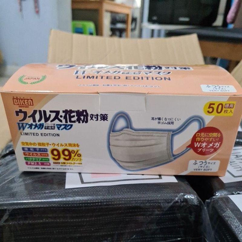 Biken Support หน้ากากอนามัยญี่ปุ่น สีดำ
