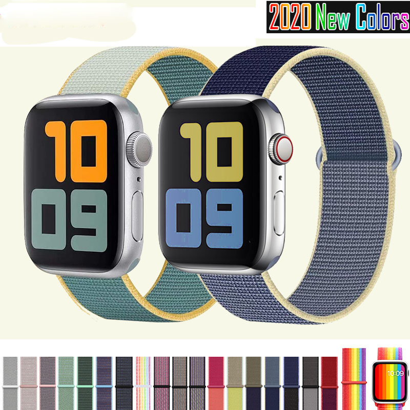 สายนาฬิกาข้อมือ สำหรับ apple watch band  สาย Applewatch Series 5/4/3/2/1 สายนาฬิกา applewatch สาย apple watch apple watch band สายนาฬิกาข้อมือ