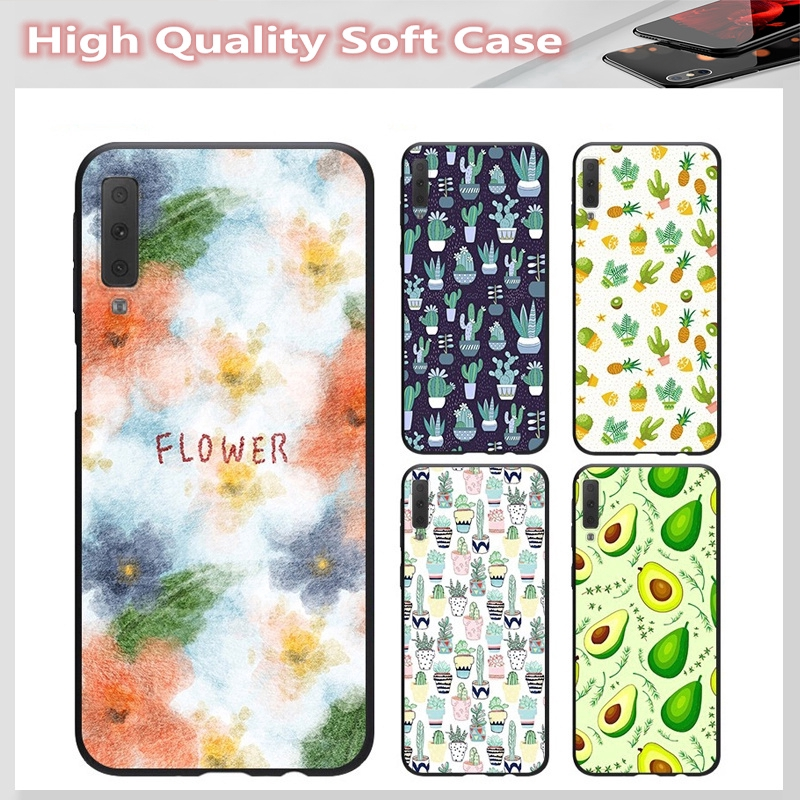 casing for SAMSUNG A2 CORE J7 Pro J7 PLUS A6 A6+ A7 A8 A8+ A8 Star A9 2018 Cover cactus Soft Case