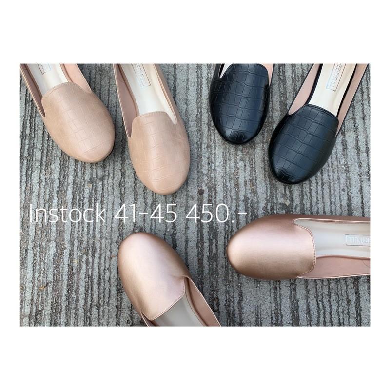 41-45 | Flat Casual Shoes รองเท้าคัชชู รองเท้าไซส์ใหญ่ คุณภาพดี