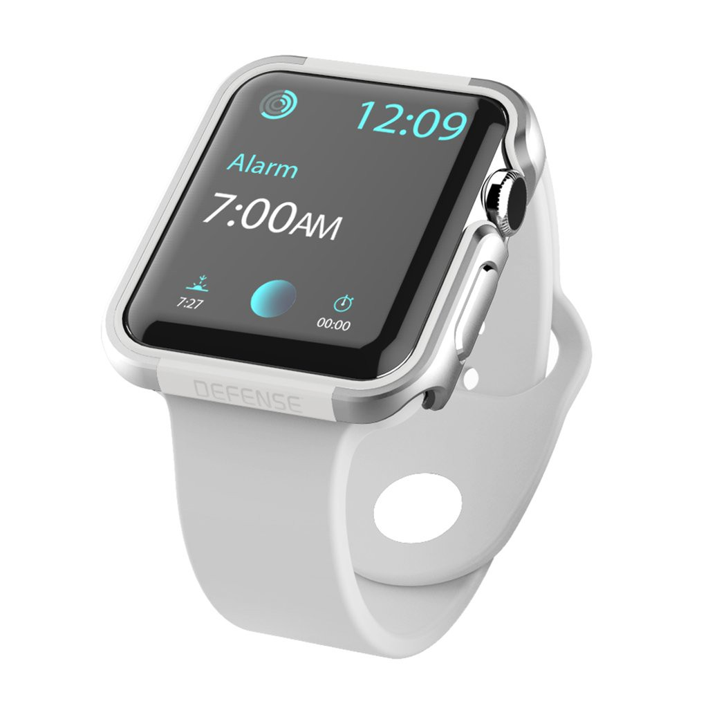 X-Doria 42mm Apple Watch Case Defense Edge (สีขาว)