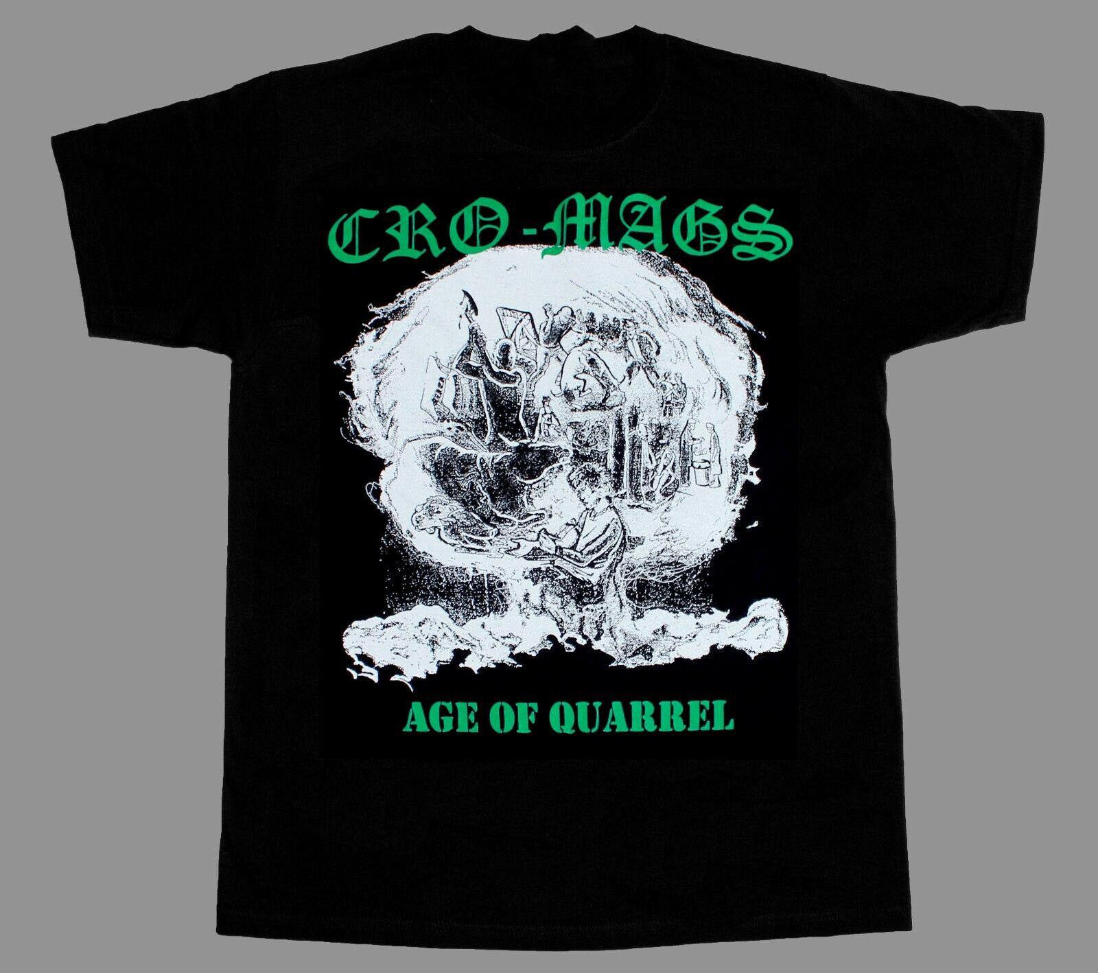 เสื้อยืดลายกราฟฟิก Vinatge Cro Mags