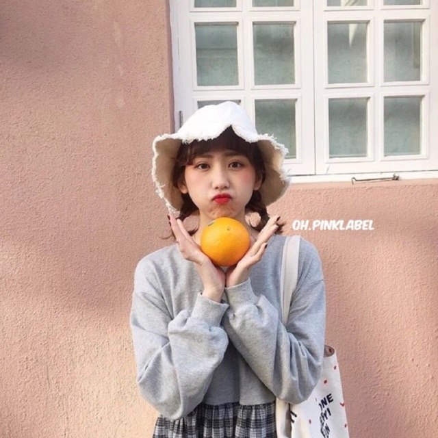 Super SALE Ribbed Bucket Hat : หมวกขอบรุ่ย
