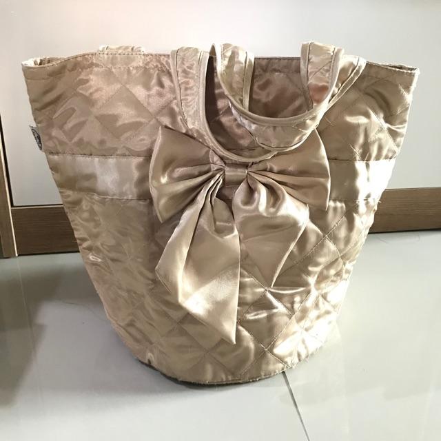 กระเป๋าผ้า NaRaYa สีทอง ส่งต่อราคาน่ารัก 100฿