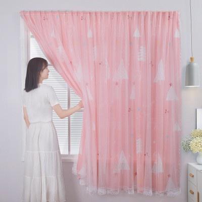 ผ้าม่านหน้าต่าง ผ้าม่านประตู ผ้าม่าน UV สำเร็จรูป กั้นแอร์ได้ดี และทึบแสง กันแดดดี ติดแบบตีนตุ๊กแก จำนวน 1ผืนติด