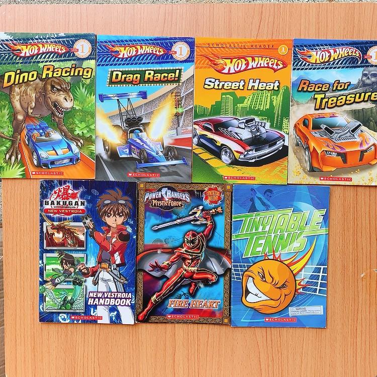 หนังสือภาษาอังกฤษสำหรับเด็ก 📘: Hot Wheels and Other books by Scholastic