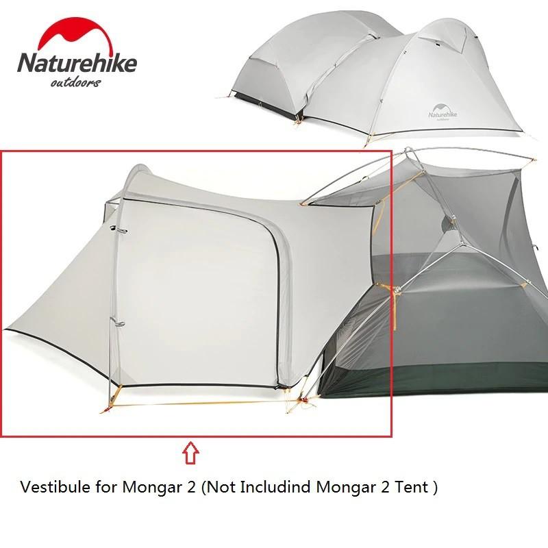 +พร้อมส่ง+ Naturehike Mongar 2 20D tent 3 season เต็นท์ 3 ฤดู สำหรับ 2 คน น้ำหนักเบา เหมาะกับ Outdoor camping WHDp