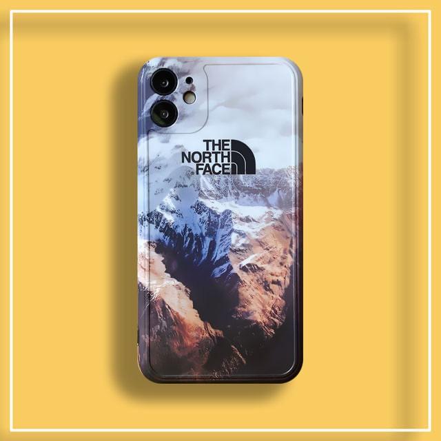 【Mountain face】เนื้อแมทหนาขึ้นป้องกันการตกกระแทก เคส iphone11 pro max se2020 x xr xsmax 7 8 plus apple iPhone case case iPhone 11