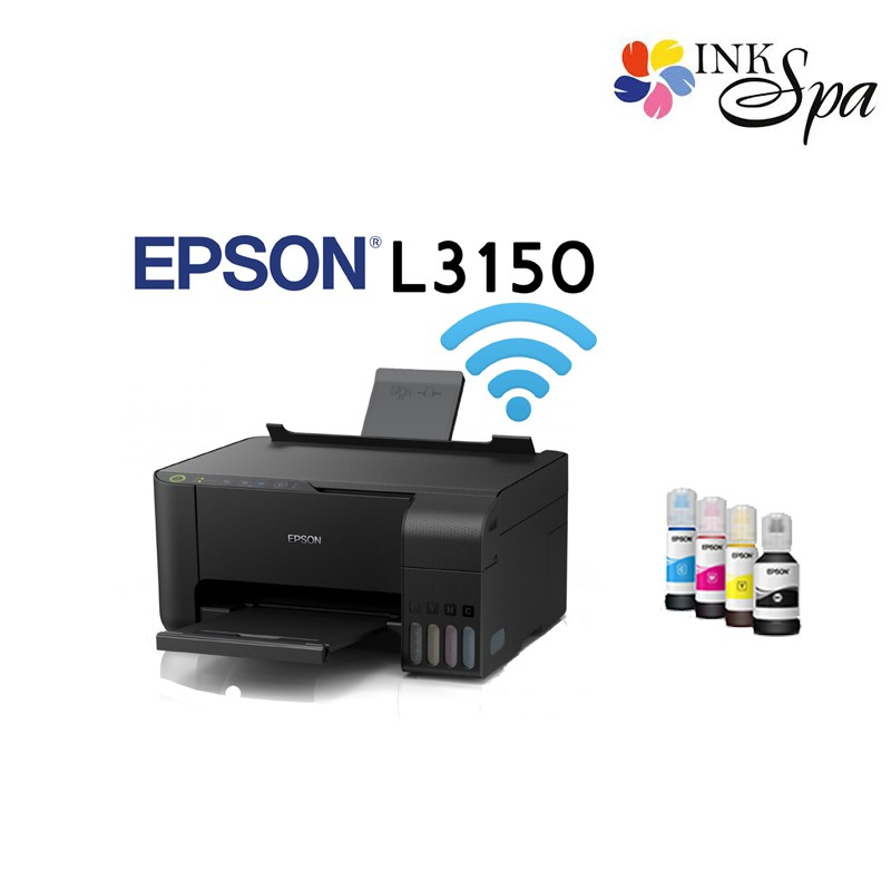 Printer Epson L3150 + หมึกแท้ by ink spa