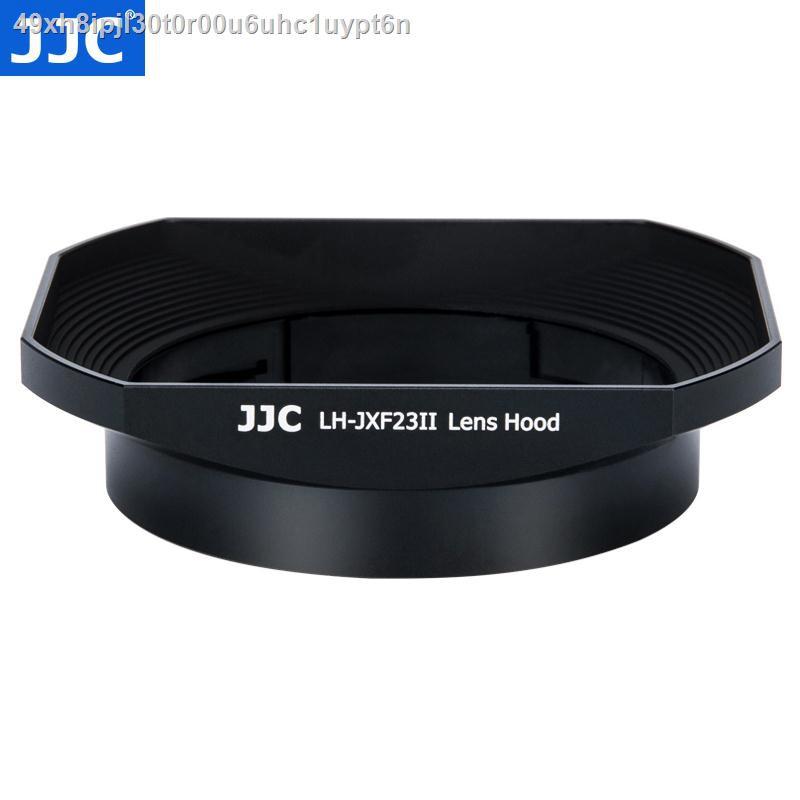 ศีล❐❂▬JJC ใช้ Fuji LH-XF23 เลนส์ฮูด XF 23 มม. f1.4 เลนส์ 56 F1.2 R / XF56mm APD กล้อง XT30 XT3 XT20 โลหะสี่เหลี่ยม 62