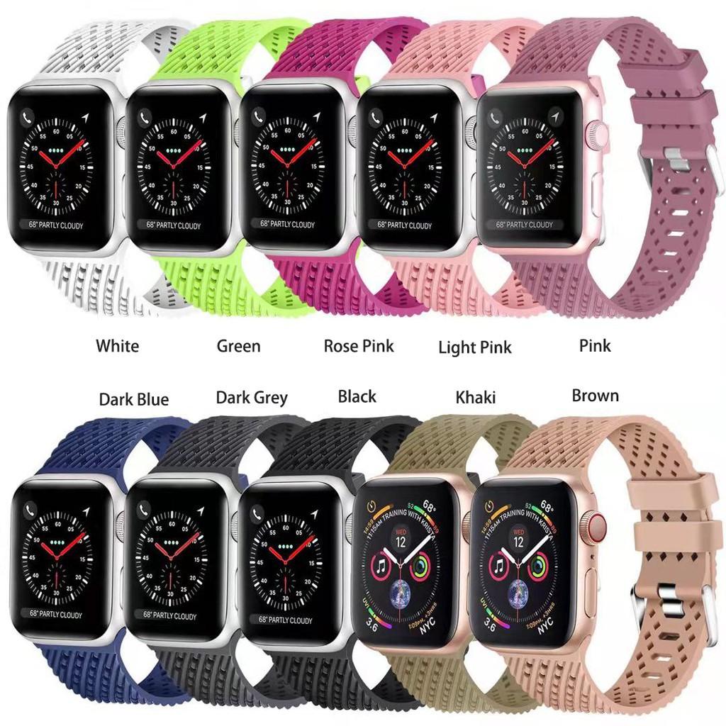 สาย applewatch สายนาฬิกา applewatch นาฬิกาข้อมือ Apple Watch สาย 38 มม. 40 มม. 42 มม. 44 มม. apple watch series 6 SE 5 4